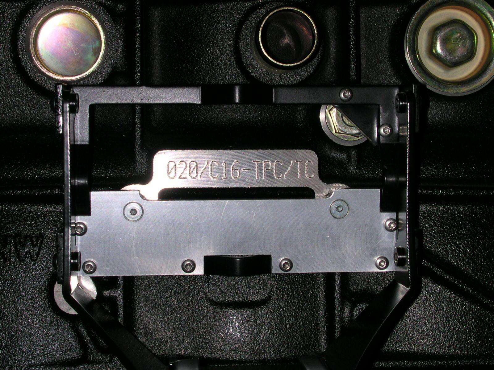 ドライビングブロックへの刻印(2)